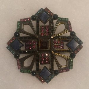Sorrelli Jewelry - ⭐️SORRELLI BROOCH PIN DECO SIGNED BRONZED CRYSTALS